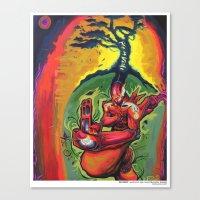 Zenbot Canvas Print