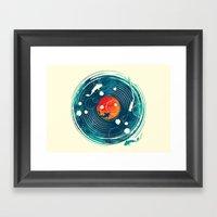 Sound of Water Framed Art Print