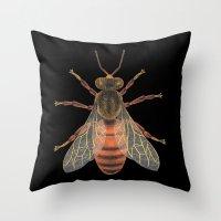 Bee (Abeille) Throw Pillow