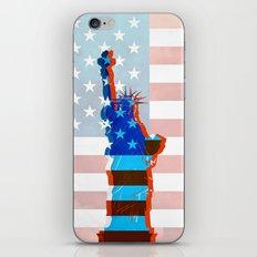statue of liberty / USA iPhone & iPod Skin