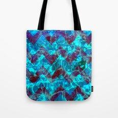Chevron Waves Tote Bag