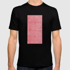 Robotic Boobs Red Mens Fitted Tee SMALL Black