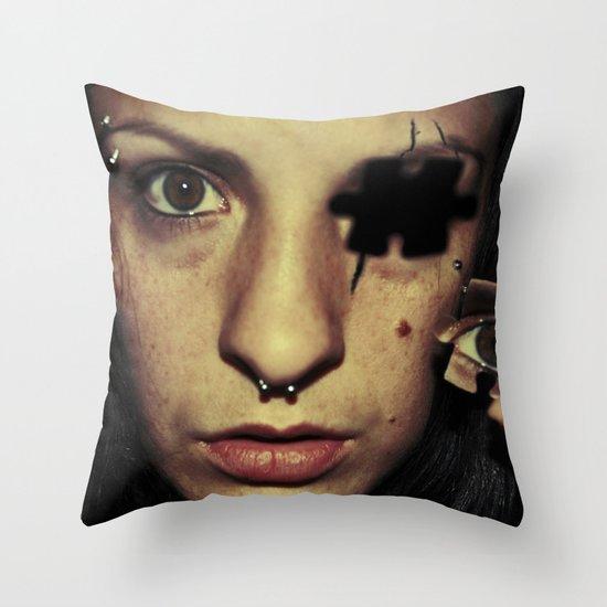 A piece of me Throw Pillow