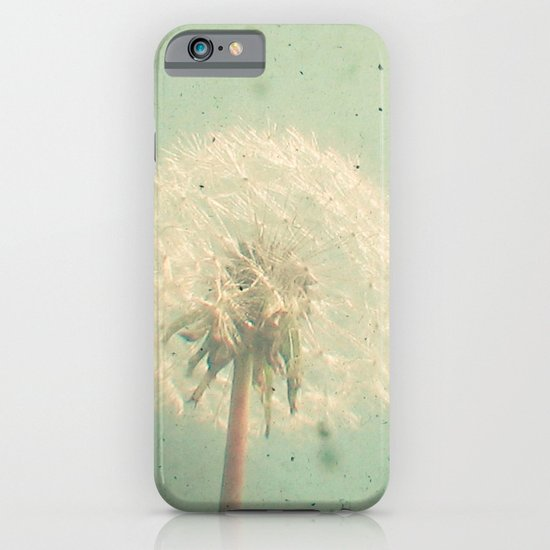 Dandelion Clock iPhone & iPod Case