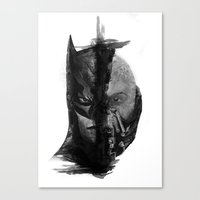 Braking Bat Canvas Print