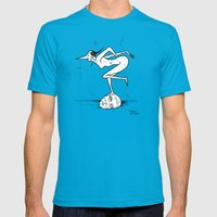 October 5th, 2013 Mens Fitted Tee Teal SMALL