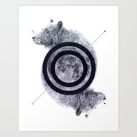 Bears - Endless Power Art Print