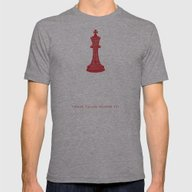 We Are Not So Very Diffe… Mens Fitted Tee Athletic Grey SMALL
