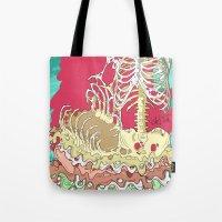 Flesh illustration Tote Bag