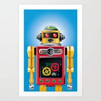 Tin Man No. 2 Art Print