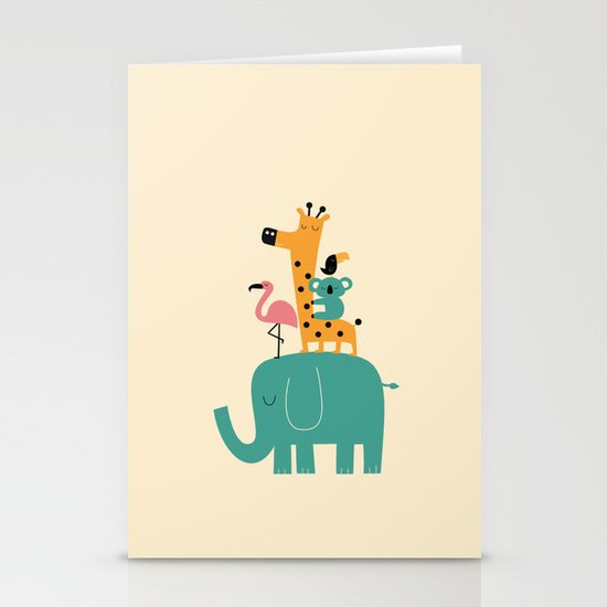 Moving on Stationery Card