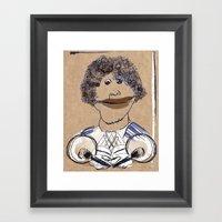 Hey, hey, it's Franklin Framed Art Print