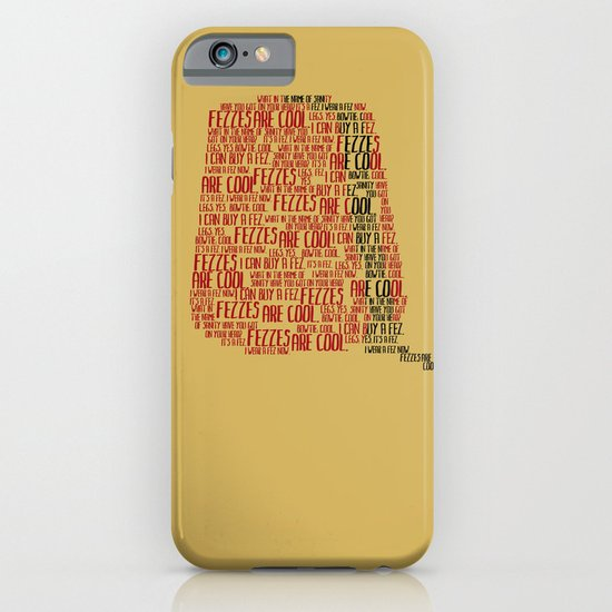 Fezzes are cool (Doctor Who) iPhone & iPod Case