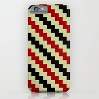 iPhone & iPod Case featuring Pixel Navajo by athomahawk