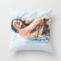 Figurative Throw Pillow