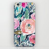 Gardens of Capitola Watercolor Floral iPhone & iPod Skin