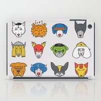 Super Dogs iPad Case