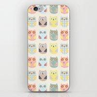 Owls Pattern iPhone & iPod Skin