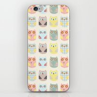Owls Pattern iPhone & iPod Skin