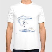Alluvione | Flood Mens Fitted Tee White SMALL