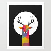 Art Print featuring SO SERIOUS by Volkan Dalyan
