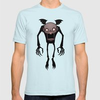 Nosferatu Mens Fitted Tee Light Blue SMALL