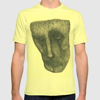 The Sad Mens Fitted Tee Lemon SMALL