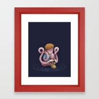 Mimic Framed Art Print
