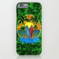 Sunset Surfboards And Pa… iPhone 6 Slim Case