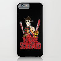 iPhone & iPod Case featuring Slasher Mash (SFW) by Mike Handy Art