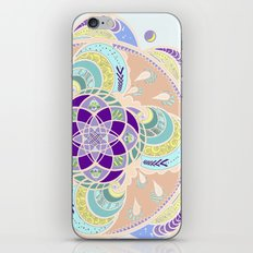 Daisy Lotus Meditation iPhone & iPod Skin