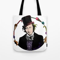 Merry Christmas From The Chocolate Factory Tote Bag