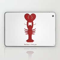 Loving Lobster Laptop & iPad Skin