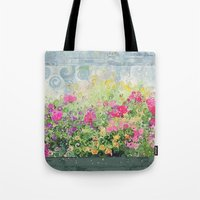 Dreamy Confetti Flower B… Tote Bag
