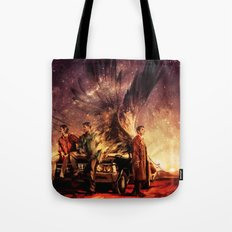 Carry On My Wayward Son Tote Bag