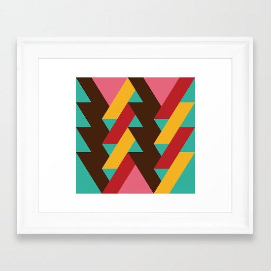 Ribbon Pattern 2 Framed Art Print