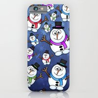 iPhone & iPod Case featuring Frosties The Snowmen. by Digi Treats 2