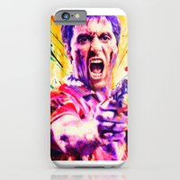 iPhone & iPod Case featuring al pacino by manish mansinh