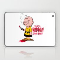 You're a Bad Man Charlie Brown Laptop & iPad Skin