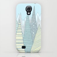 Galaxy S4 Cases featuring Summer Mountains by Anita Ivancenko