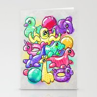 Inflatable Playground Stationery Cards