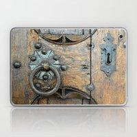 Church door Laptop & iPad Skin