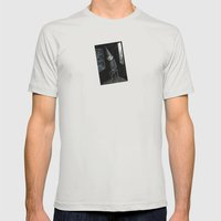 I am that I am Mens Fitted Tee Silver SMALL