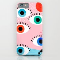 Noob - Eyes Memphis Retr… iPhone 6 Slim Case
