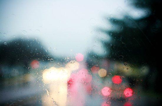 With Rainy Eyes Art Print