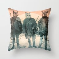 Throw Pillow featuring Fox Hunt by Chase Kunz