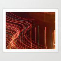lights. lights. lights. Art Print