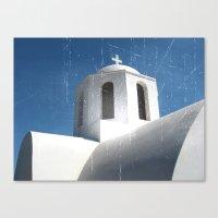 Greek Building  Canvas Print