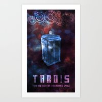 I'm The Doctor. (Version… Art Print