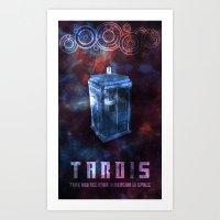 I'm The Doctor. (Version… Art Print